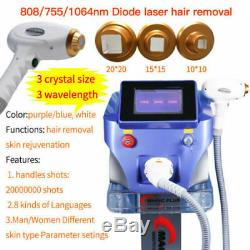 1064nm/755nm/808nm Diode Laser Permanent Body&Facial Hair Removal Beauty Machine