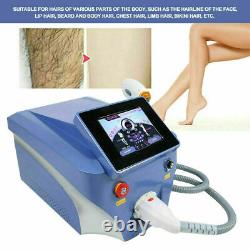 20 Million Shot 808nm Diode Laser Painless Body Face Hair Removal Beauty Machine