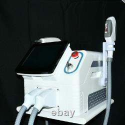 2IN1 OPT SHR IPL Hair Removal ND YAG Laser Tattoo Removal spa Beauty Machine