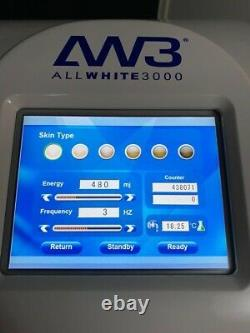 AW3 3000 Laser Hair and tattoo Removal machine and stand