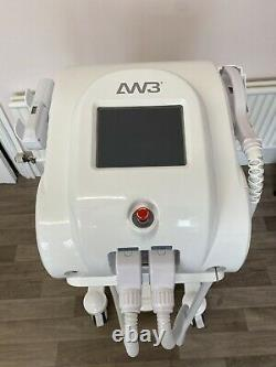 All White Laser AW3 Flash Combo IPL Hair and ND Yag Tattoo Removal Machine
