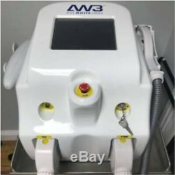 All Whites Laser Ipl tattoo removal skin rejuvenation hair removal Machine