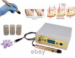 Avance Permanent laser hair removal professional equipment, machine system kit