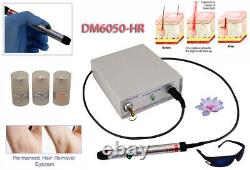 Avance Salon use laser hair removal machine, powerful system permanent results