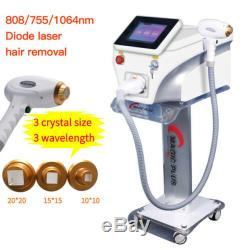 Diode Laser Hair Removal Machine Skin Face Body Hair Removal Laser Machines