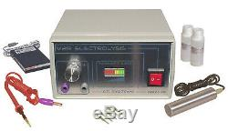 Electrolysis permanent hair removal Home Use Machine + gel & kit accessories