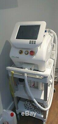 Flo Lite IPL Permanent Hair Removal machine cost £12,000 excellent results