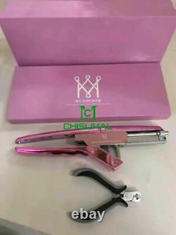 Hair Extensions Tools for Hair Extension & Pliers for Removal New Machine 6D