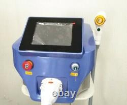 Laser Diode hair removal machine, triple wave, 755, 808 and 1064nm, 3 size heads