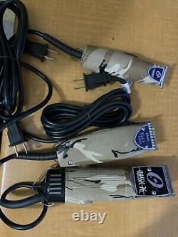 Oster Classic 76 +fast Feed +t-finisher (Pack Of 3 Machines) New