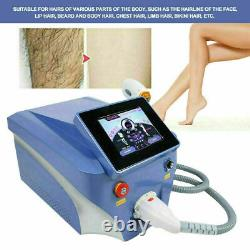 PRO Diode Laser Permanent Painless Hair Removal Skin Rejuvenation Beauty Machine