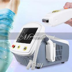 Professional 808nm Diode Laser Permanent Body Face Painless Hair Removal Machine