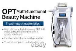 Professional OPT IPL SHR RF Laser Hair And Spot Tattoo Removal Beauty Machine