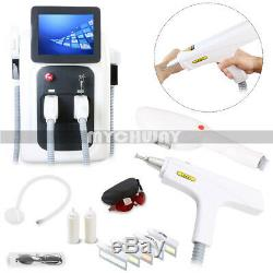 Professional Salon Use IPL+Yag Laser Tattoo Removal Hair Removal Beauty Machine