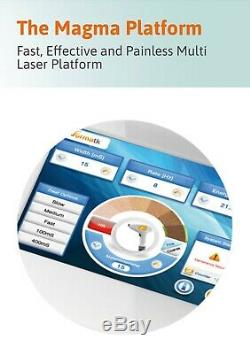 Professional laser hair removal and skin treatment machine