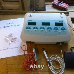 STEREX SXB BLEND Electrolysis Machine FULLY SERVICED WITH WARRANTY