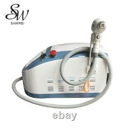 Sanwei Mini Size Blue 808 Diode Laser Hair Removal Painless Fast Beauty Machine