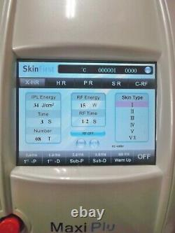 Skin First Maxi Plus MPL IPL Laser Hair Removal Machine & Radio Freq Face Lift