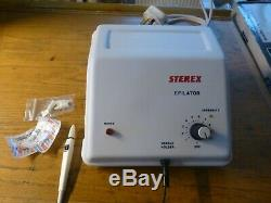 Sterex Sxt Electrolysis Machine. Fully Serviced With Warranty