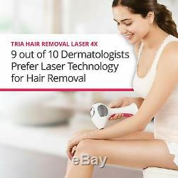 Tria 4x Green Laser Hair Removal Machine Deluxe Kit SmoothStart Gel + FREE GIFTS